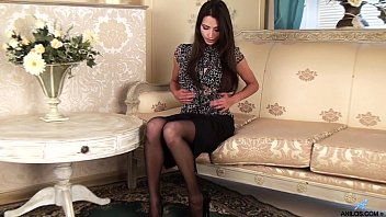 Chelsea magan virginity - Gorgeous petite milf in stockings