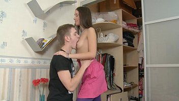 Helping Sensual Girl To Undress!