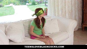TeensLoveBlackCocks   Cute Redhead Alice Green Rides Big Black Cock