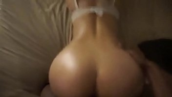 Big Booty Asian loves BBC doggystyle