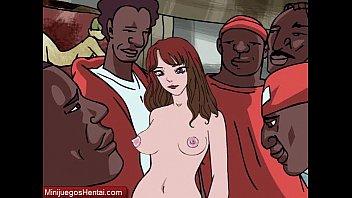 Christy - Catholic Teen Gangbanged By Black Dicks