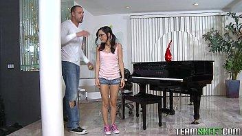 ExxxtraSmall Petite latina teen Tia Cyrus tight pussy hardcore sex