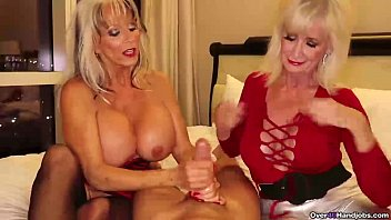 Grannies handjob compilation - Over-two grannies jerking you off
