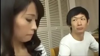 Cheating Japanese Milf with her Son thumbnail