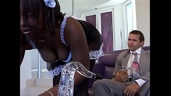 Black maid is the sexual toy of her white master # 2
