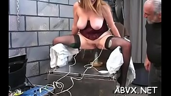 Free amatuer home sex movies - Taut pussy bizarre bondage in home xxx video