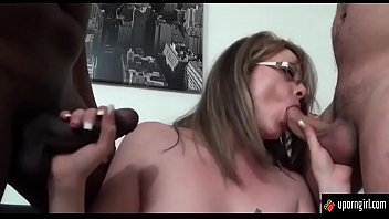 Sexy milf show her big tits and pussy  uporngirl.