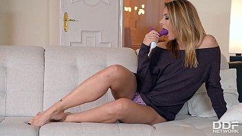 Eurogirls Ani Blackfox & Eva Parcker fill their pinks & butts with sex toys thumbnail