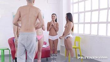 Private.com - Twister Sisters Apolonia & Selvaggia Milk Cock