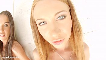 Lindsey Olsen and Nataly Gold in hot creampie threesome scene All internal