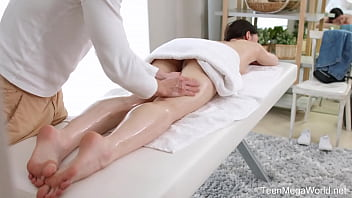 TrickyMasseur.com - Rin White - Spicy bonus of a full-body massage 7 min