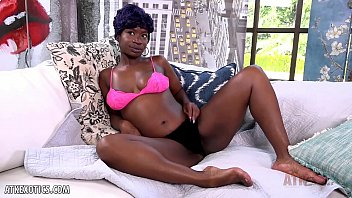 Tiana Grey's pussy is dripping wet from her toy 11 min
