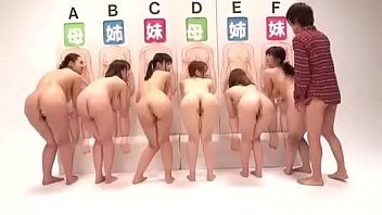 Gameshow Japanese, 1 Boy Fuck 6 Girls, Cum In All