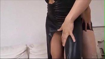 Rena Fukiishi Fucked In Black Dress