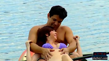 Amateur couple are first time swingers to join for an orgy