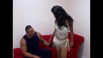 Indian Big ass girl hardcore sex and blowjob with black man