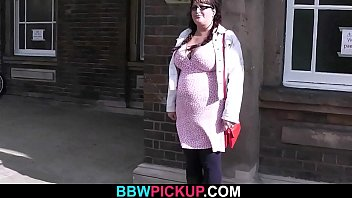 BBW tourist is picked up and fucked