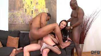 7877 Fucked by multiple cocks in the same time, this young girl moans and has multiple orgasms while being gangbanged because she loves group sex and to swallow loads of cum after riding big black cocks and get anal fucked preview