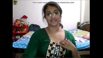 desi babe getting nude and seducing on webcam