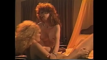 Nasty redhaired hottie with big jugs Viper welcome her fair-haired finger artist Lynn LeMay to stretch both her holes during their Sapphic intercourse