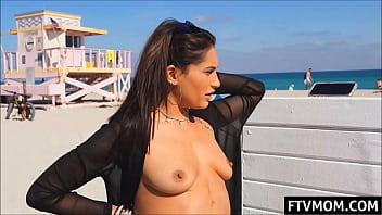 nude in public milf