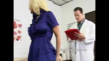 Brandy sees Dr Jack to check out her ass and pussy with wild sex later.