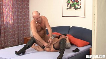 Stockinged mature german whore take cock 8 min