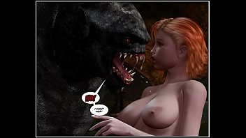 Erotic dragon fantasy video 3d comic: dragon rider. episodes 2-3