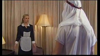 Demia Moor, Naughty Maid enjoys DP 5 min