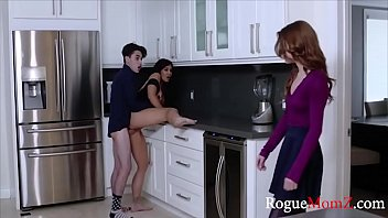 Mom teaches my GF how to fuck me WTF porn image