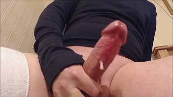 My solo 44 (wanking aroused cock to a satisfying cum)