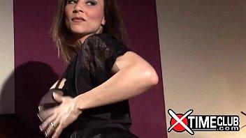 Roberta Gemma hot italian pornstar for Xtime Club 12 min