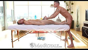 Cum gay man Hd - manroyale latino guy gets his ass coverd in cum