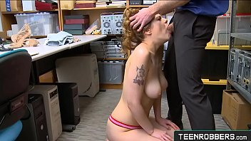 Sailor Luna Robber Punished by Tough Perv Officer - Teenrobbers.com