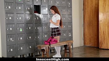 Innocenthigh - Slutty Cheerleader Squirts All Over Coach
