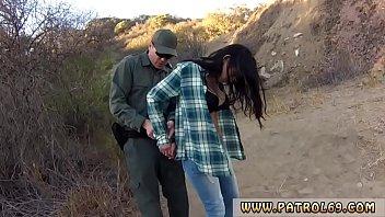 Police strip tease Cute latin peacherino Josie Jaeger rails on the