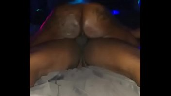 tattooed juicy booty rides dick until I cum