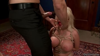 Married couple anal fuck bound slave