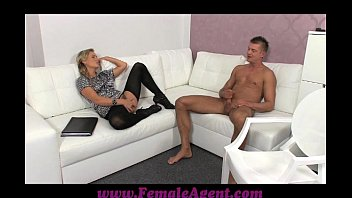 FemaleAgent Shy stud needs help from agent thumbnail