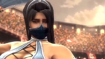 Mortal kombat (Part 1) - Kitana and Shao Kahn (Edited by me)