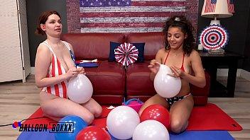 Amateur Boxxx - Annabel Redd & Ella Cruz 4th of July Bash