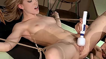 Enslaved Schoolgirl Lily Labeau. Part 2.  The Teacher Focusing On Her Hairy Cunt.