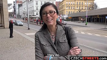 Czech MILF Secretary Picked up and Fucked thumbnail