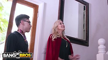BANGBROS - Halloween Special With Brandi Love, Kenzie Reeves & Juan El Caballo Loco