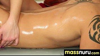 Babe Fires Nuru Massage 22