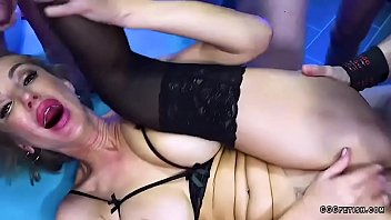Rough anal and mouth fuck on busty elen million