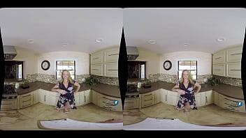 MilfVR - Caulking in the Kitchen ft. Carmen Valentina