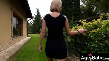 MILF Elen Million got her mouth, ass and pussy stuffed with a man meat