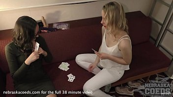Nebraska strip poker Cruise ship strip poker with young maria and sarah