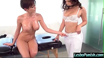 Hot Teen Lez (Emily Addison & Violet Starr) Is Punish With Dildos By Mean Lesbo Video-05 PornHD